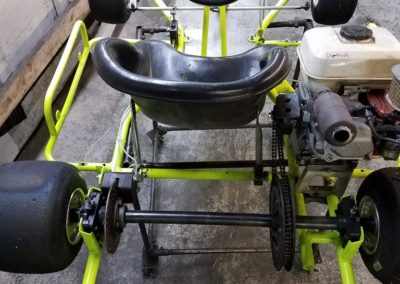 Maxam-neon-yellow-honda-kart-rear