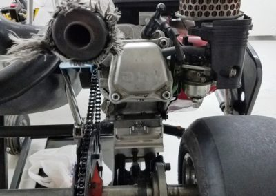 Used-kart-Margay-Puma-94-Black-Engine-Rear