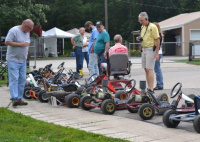 Sellon-Fairman-Inspecting-Kart-Show-2014